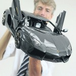 this 1:8 Lamborghini Aventador cost 4.5 million euro