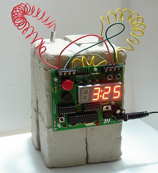Defusable Clock C4 544x595px