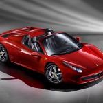 Ferrari 458 Spider – drop-top V8 mid-rear engine convertible