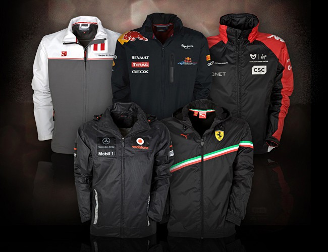 Formula One Autumn-Winter Jackets 650x500px