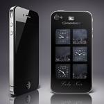 Gresso iPhone 4 ArtPhone Lady Noir Edition