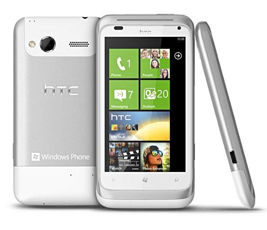 HTC Radar 544x468px