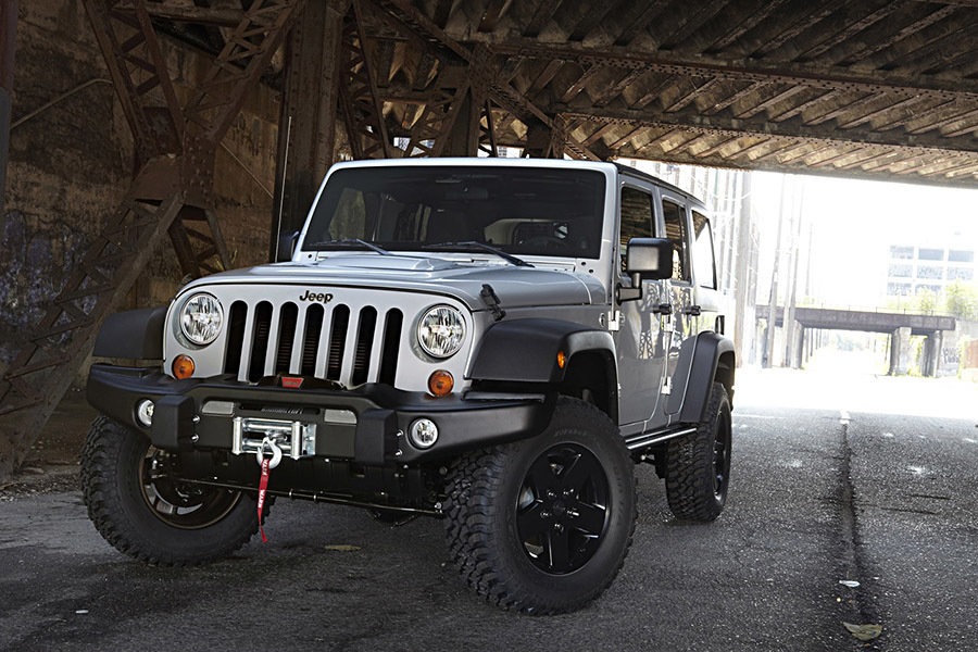 2012 Jeep Wrangler Call of Duty: Modern Warfare 3 Special Edition 900x600px