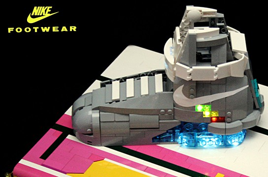 LEGO Nike MAG shoes 544x360px