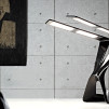 Liternity Victory Carbon Series OLED Desk Lamp - Deep Black 900x500px