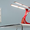 Liternity Victory Carbon Series OLED Desk Lamp - Racing Red 900x500px