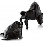 the Walrus Chair and Rhino Chair by Maximo Riera
