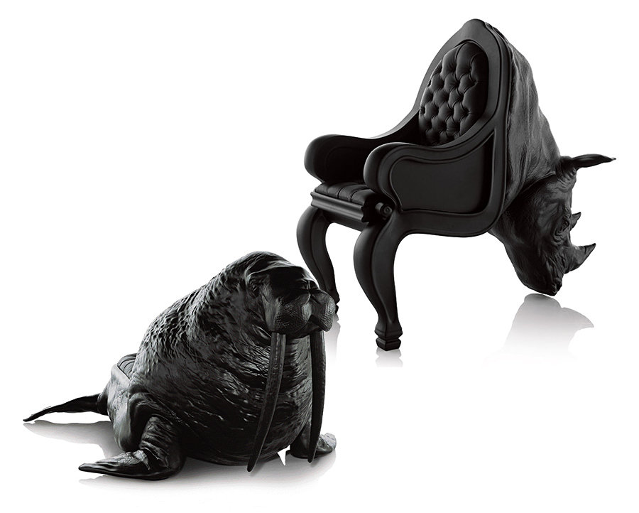 Octopus Chair the walrus chair and rhino chairmaximo riera - mikeshouts