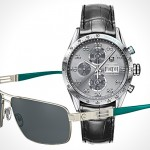 Mercedes-Benz x TAG Heuer watch & Rodenstock shades