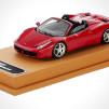 Model Ferrari 458 Spider in 1:43 scale 900x515px