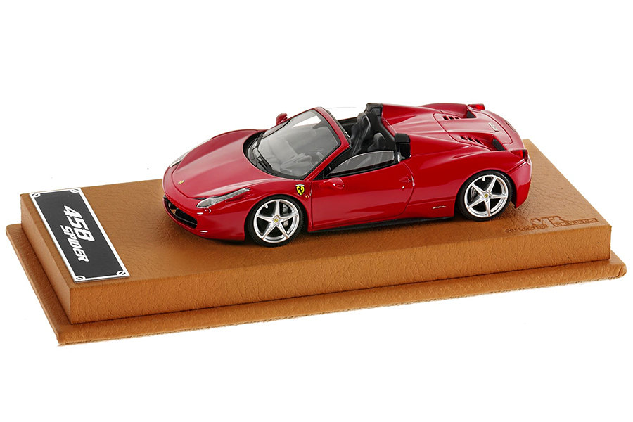 Model Ferrari 458 Spider in 1:43 scale 900x600px