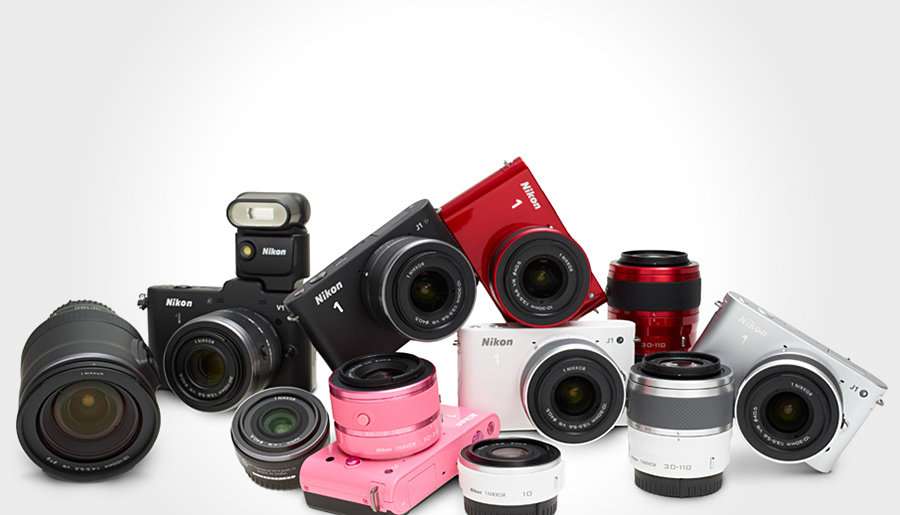 Nikon 1 Series Digital Cameras 900x515px
