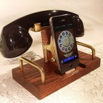 custom iDevice dock rekindles your love for retro phone