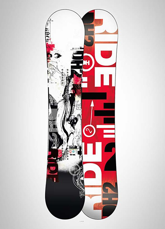 Ride Snowboards DH2 Snowboard 544x755px
