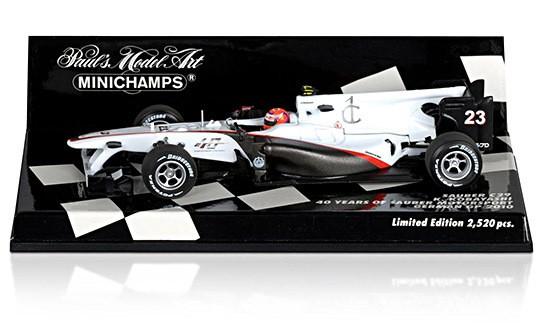 Sauber F1 Team C29 Kamui Kobaysahi 40th Anniversary 544x330px