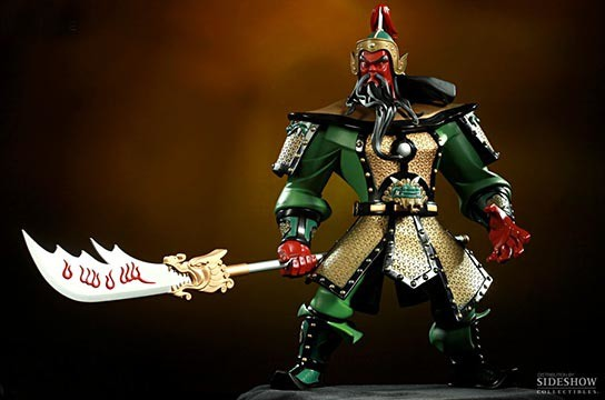 Sideshow Collectibles Guan Yu Vinyl Figure 544x360px