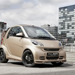 Smart x WeSC Brabus Fortwo Cabriolet and headphones