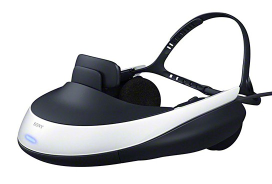 Sony HMZ-T1 3D Head Mounted Display 544x368px