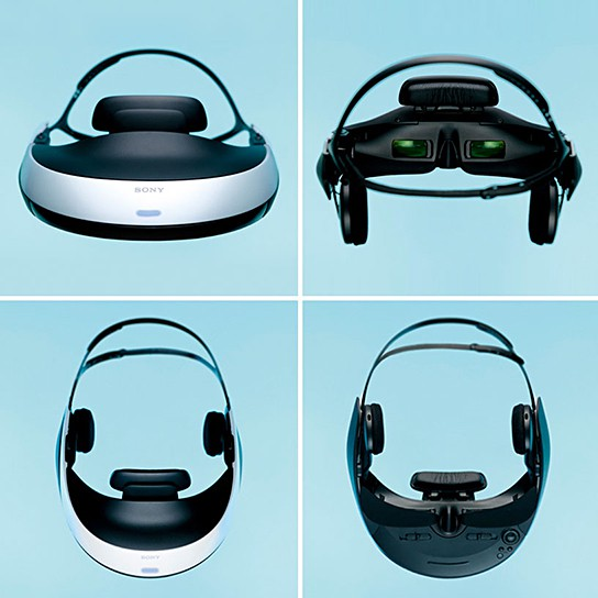 Sony HMZ-T1 3D Head Mounted Display 544x544px