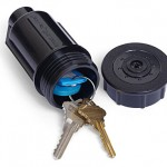 Sprinkler Hide-A-Key. great, now everyone knows my secret