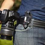The Capture Camera Clip for camera-slinging shutterbug