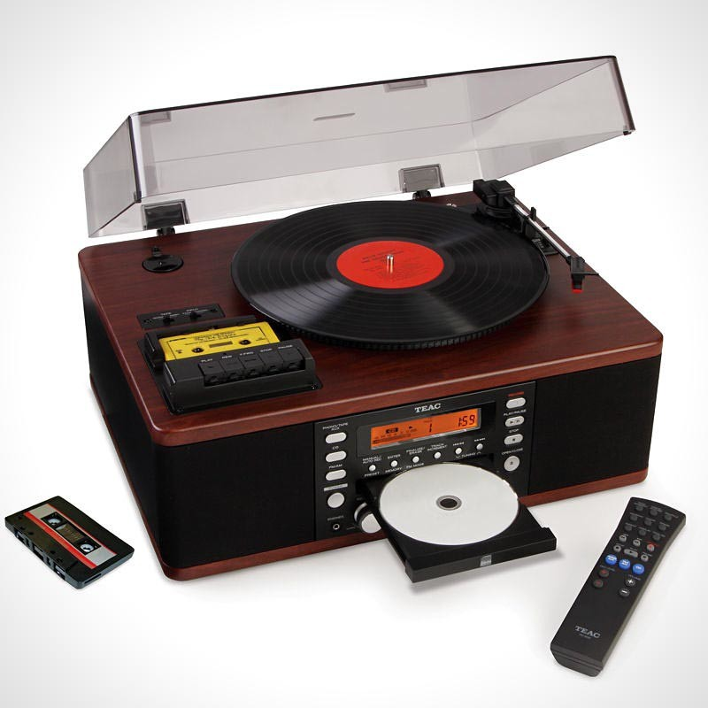 The LP and Cassette to CD Recorder 800x800px