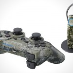 Urban Camouflage PS3 DualShock 3 & Bluetooth Headset