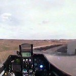 video: a perspective from a R/C F16 jet's tiny cockpit
