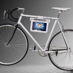 Samsung Galaxy Tab 10.1 accessory: a bike with a holder