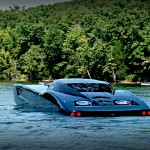 Corvette Boat – love for car transcends terrain, into the water