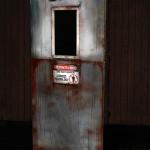 Axe killer Animatronic Door Haunted House Prop