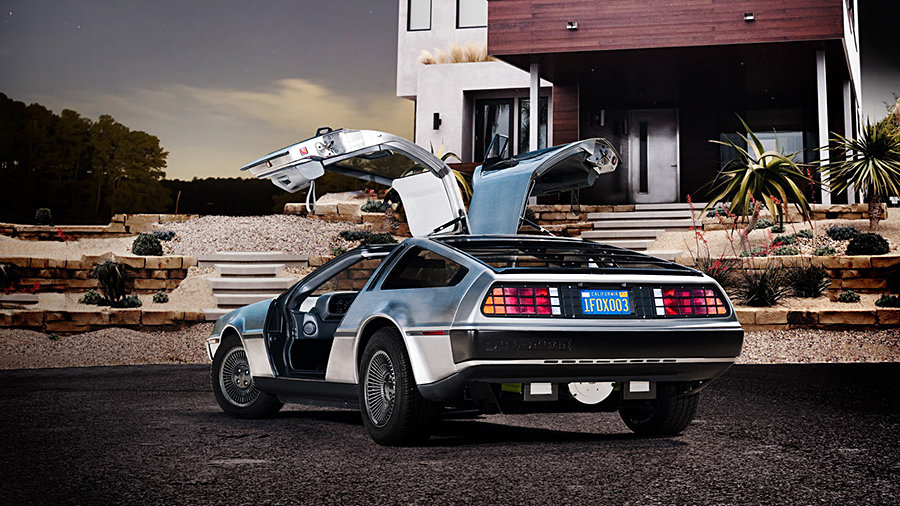 DeLorean DMC-12 Electric Car 900x506px