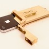 EXO7 Belt Buckle and Holster Brass Case for iPhone 4S/4 900x600px