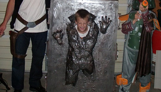 Han Solo in Carbonite costume 544x311px