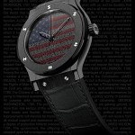 Hublot Liberty Bang celebrates U.S. Liberty Medal Award