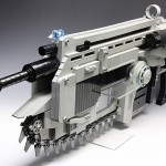 Lancer Assault Rifle from Gears of War – LEGO-style
