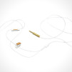 Marshall Minor in-ear headphones - white 600x376px