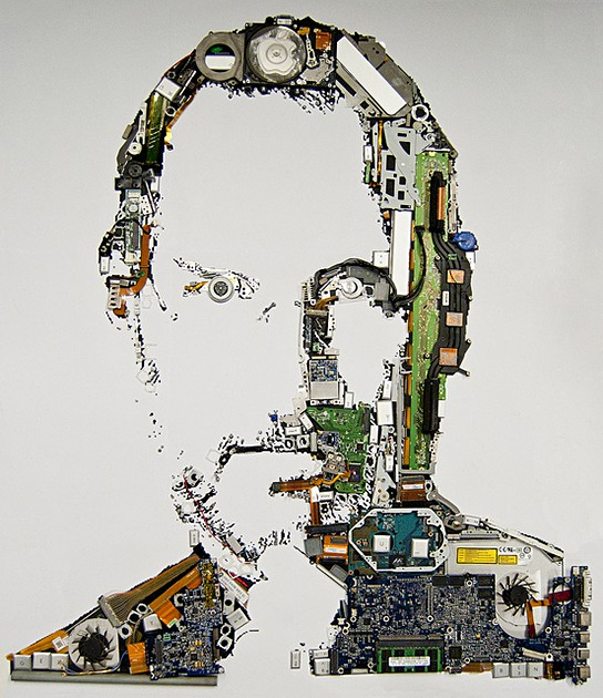 Mint Foundry Steve Jobs Portait 544x630px