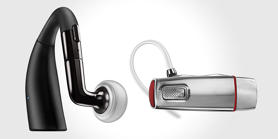 Motorola ELITE SLIVER and ELITE FLIP Bluetooth Headsets 900x450px