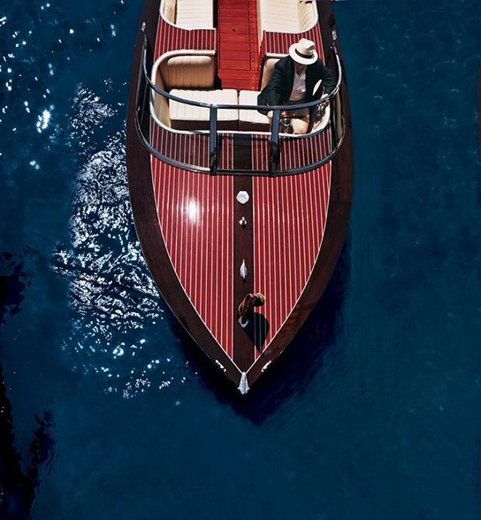 Neiman Marcus Edition Hacker-Craft Speedboat Fantasy Gift 544x588px