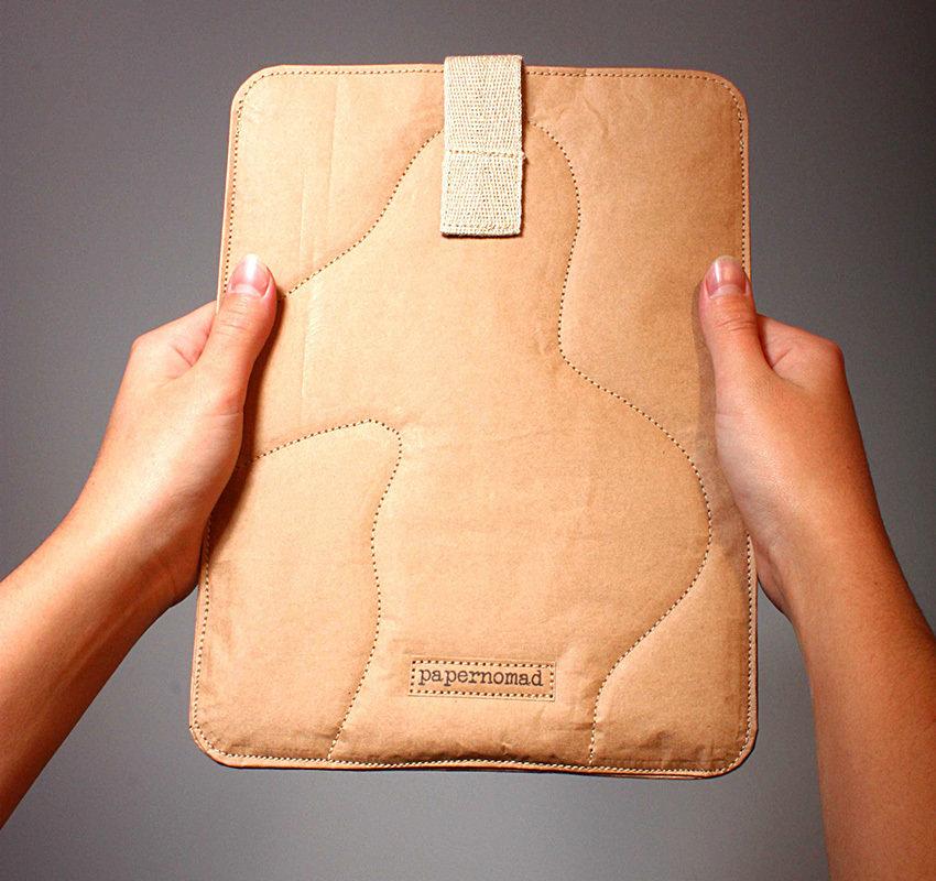 Papernomad iPad Sleeve 850x800px