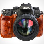 Sigma SD1 with wooden treatment but is still a SD1