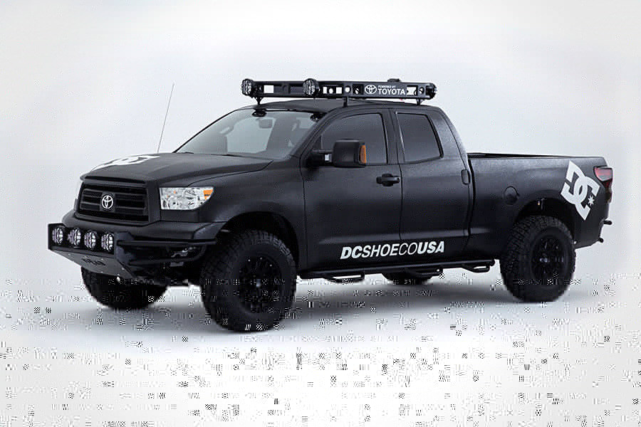 Toyota Ultimate Motocross Truck 900x600px