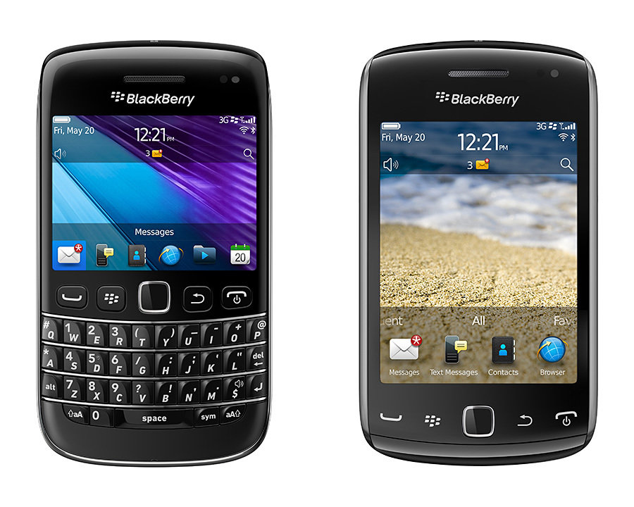 BlackBerry Bold 9790 and Curve 9380 Smartphones 900x720px