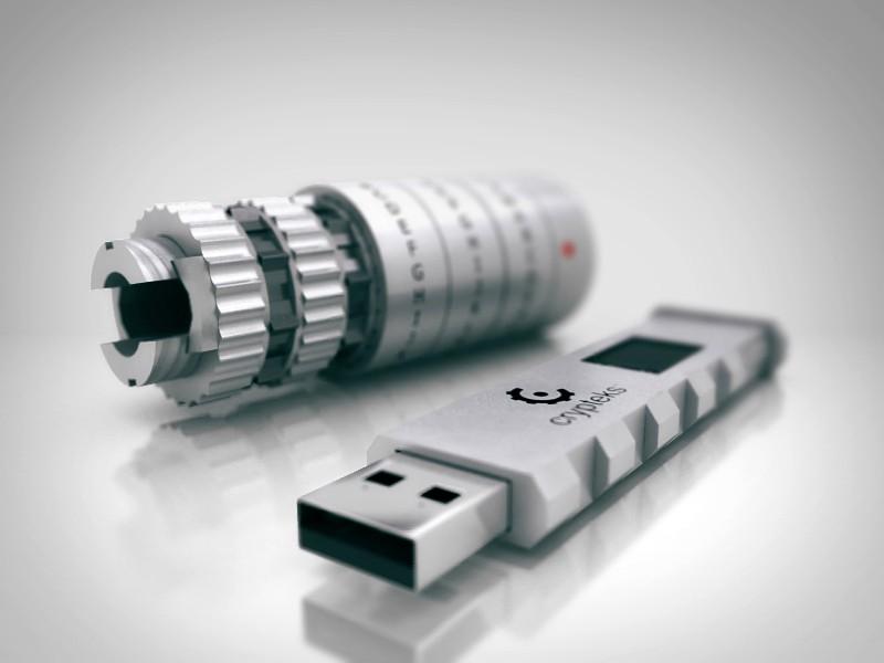 Crypteks USB Flash Drive