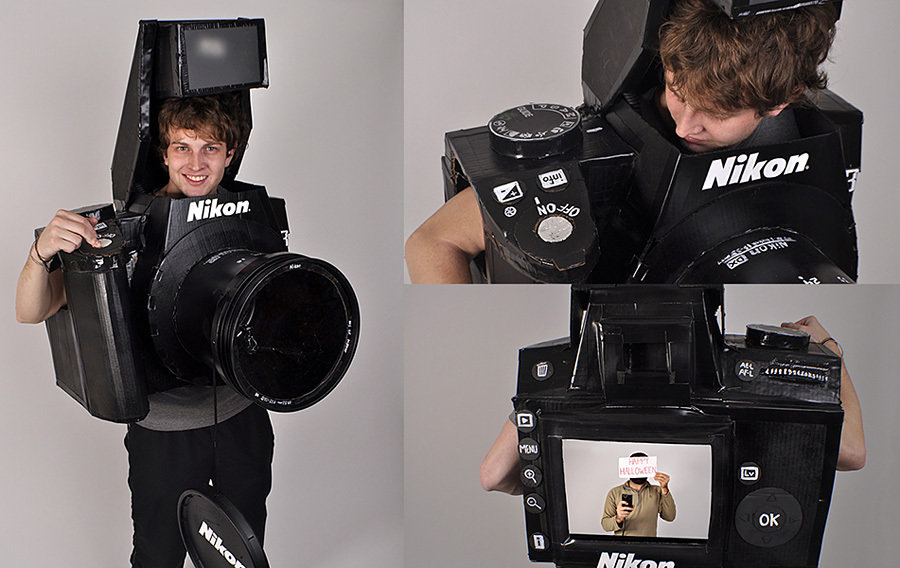 FULLY FUNCTIONAL Camera Costume 900x568px