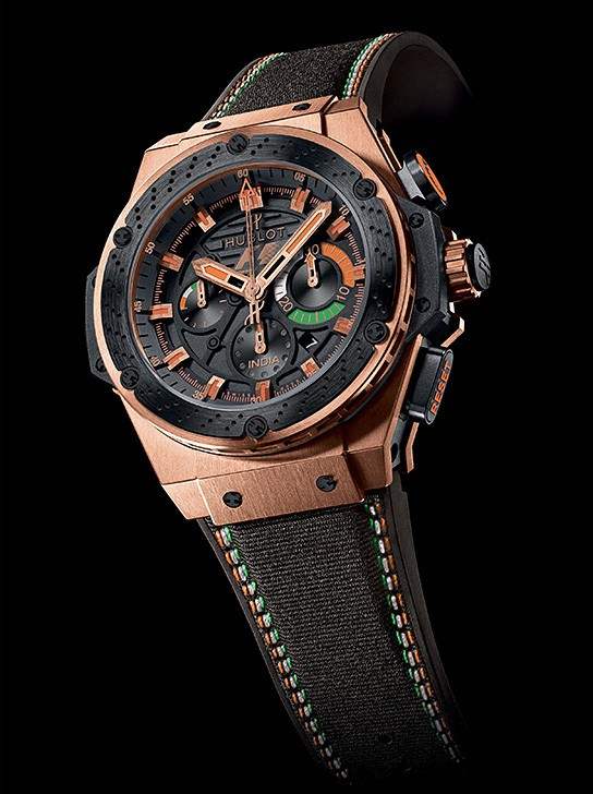 Hublot F1 King Power India Limited Edition 544x728px