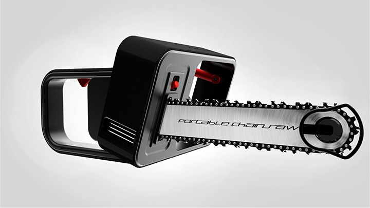 NOK Gear Portable Chainsaw Concept 720x405px