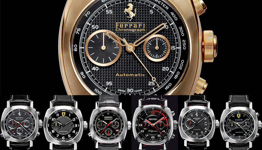 Officine Panerai for Ferrari Watches 900x515px
