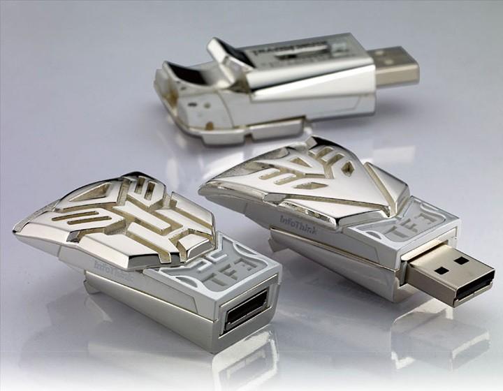 Transformer USB Flash Memory Drive 4GB